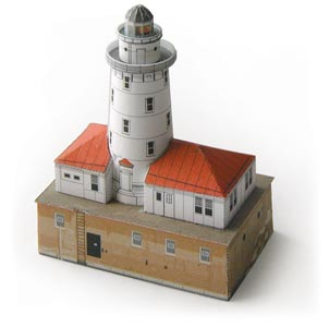 Chicago Harbor Lighthouse model