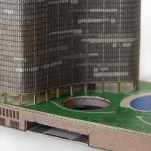 Lake Point Tower model